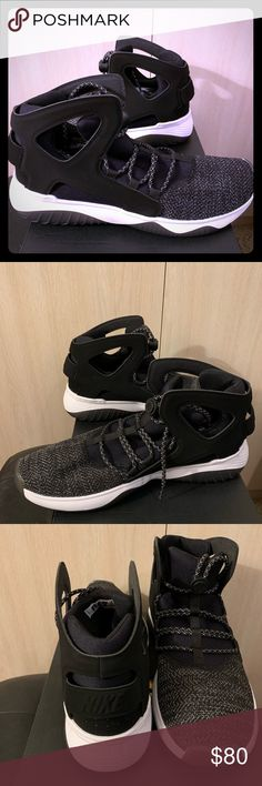 new products 09426 a13c6 Nike Air Flight Huarache Ultra Oreo Men s 10.5 Nike Air Flight Huarache  Ultra Oreo Men s 10.5