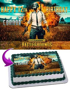 Pubg Cake Cakes In 2019 Cake Birthday Cake Themed Cakes