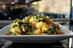 Quinoa with Kale - great for lunch!! Mary Ellen's Cooking Creations