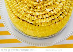 Lovely yellow shower inspiration  By Lara Scott Photography