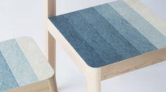 kazuya koike produces unique colored plywood decresc series