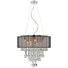 Uttermost Fascination 3-Light Chandelier - #N0784 | www.lampsplus.com