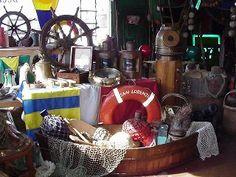 Nautical Antique Warehouse in Galveston called Nautical Antiques and Tropical Decor  2202 Ship Mechanic Row Galveston, Texas 77550