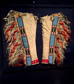 Nez Perce man's leggings                                                       …