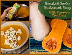 Garlicky Butternut Squash Soup Recipe   A $1000 GIVEAWAY