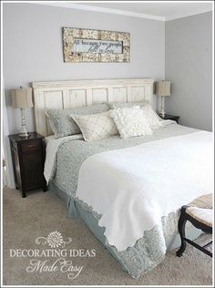 Beach house decorating ideas to get you started on designing the perfect beach style home! Learn to make a seashell wreath, a beach styled bedroom, and more! All while staying on budget!