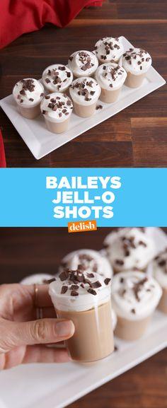 Baileys Jell-O Shots