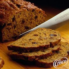 Pumpkin Nut Bread from Crisco�