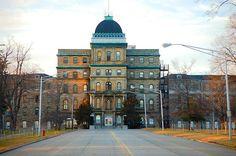 Greystone Park Psychiatric Hospital -- really across the street from where Bob grew up in Morris Township.