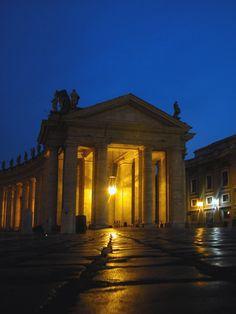 Dusk on Vatican, Rome, Italy Copyright: Francesco Leto