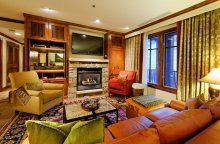 Glitzy Ritz-Carlton Aspen Highlands: 2-Bedroom, 2.5 Baths ski-in/ ski-out residence | Prime Mountain Rentals