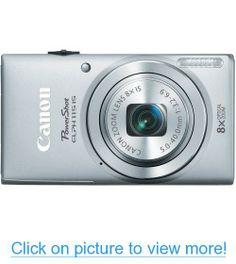 Canon PowerShot ELPH 115 16MP Digital Camera (Silver)