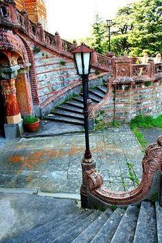 Italy:Castello di Sammezzano in Reggello, Tuscany, Italy...