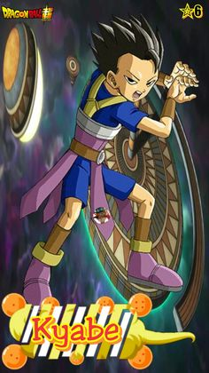 Kyabe (Cabba)- Team Universe 6. Dragon ball super