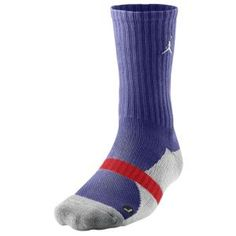 46280e600329 Jordan True Crew Sock - Men s - Sport Inspired - Accessories - Court Purple Stealth Gym  Red Black
