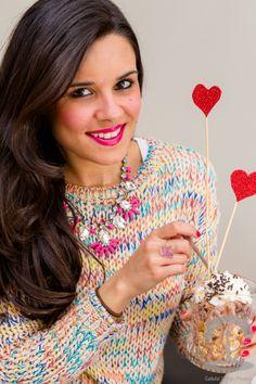 DIYs y recetas para San Valentín Crimenes de la Moda - Saint Valentine's day party - crafts & diy - hearts and recipes