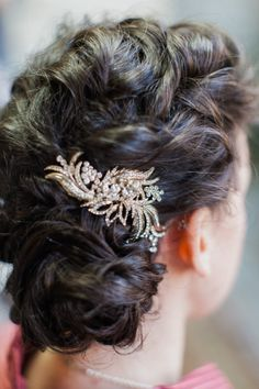 Curled updo: http://www.stylemepretty.com/2014/05/02/modern-indian-inspired-wedding/ | Photography: Mademoiselle Fiona - http://www.mademoisellefiona.com/