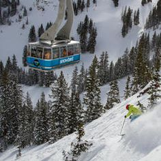 Find the best all mountain skis for your next trip as tested in Snowbird, Utah.