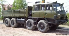 The Tatra heavy utility truck is a further development of the earlier Tatra Both are named Kolos and are large and powerful load carriers produced in both and versions. Cool Trucks, Big Trucks, Offroad, Utility Truck, Terrain Vehicle, Bug Out Vehicle, Army Vehicles, Heavy Truck, Military Equipment