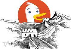 DuckDuckGo joins Google in being blocked in China    #duckduckgo #china #web #google #block
