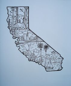 California Tattoo- hummmmm this might have to be one of my next ones. That way I can always take Cali with me.