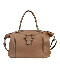 This Khaki Oversize Tote is perfect! #zulilyfinds