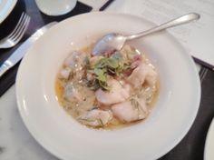 Pil-pil: cod cheeks in Basque sauce, Donostia, Marylebone, London
