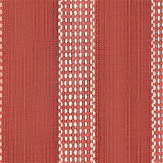 Mayfair Stripe #fabric in #red from the Serendipity collection. #Thibaut