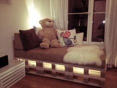 pallet bed light - Buscar con Google