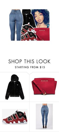 """""""niya"""" by baby-trilldolls on Polyvore featuring Victoria's Secret, MICHAEL Michael Kors and NIKE"""