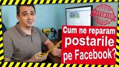 Cum ne reparăm postările pe Facebook? Detalii în video... pas cu pas! Vl... Facebook, Youtube, Youtubers, Youtube Movies