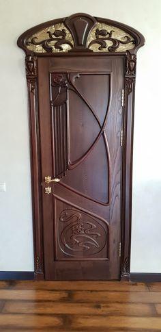 New art nouveau design interior architecture Ideas Architecture Art Nouveau, Art Nouveau Interior, Design Art Nouveau, Art Nouveau Furniture, Interior Architecture, Cool Doors, Unique Doors, Gate Design, Door Design