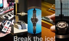 Display Case, Ice, Touch, Watches, Future, Glass Display Case, Display Window, Future Tense, Clocks
