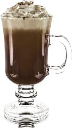 Irish Coffee Glasses, Irish Coffee Mugs, Glass Coffee Mugs, Coffee Mug Sets, Mugs Set, Coffee Latte, Layout Design, Gadgets, Glass Tea Cups