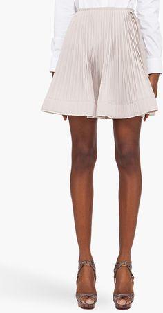 Silk Blend Ballet Skirt