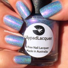 Lilypad Lacquer - Oh So Fly.  And damn is it fly!  I love this polish, so gorgeous!! :)