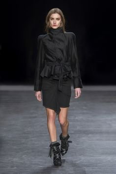 Isabel Marant Winter 2014 I think me and Isabel could be fashion soul mates <3