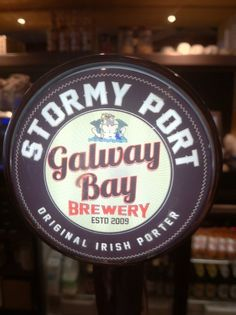 Stormy Port (Porter), from Galway Bay Brewing .... quite good.