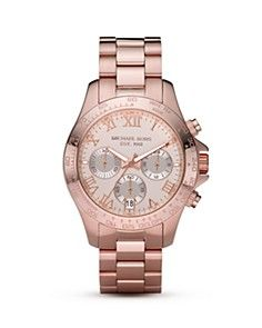 Michael Kors, rose gold and roman numerals... you did it again MK <3