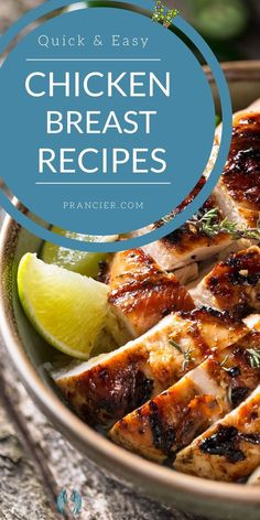 Quick and Easy Chicken Breast Recipes for a Healthy Dinner The best Chicken Breast Recipes for a healthy dinner. Quick and easy, 30-minute herbs and lemon chicken breast recipe. Tender and juicy, this easy weeknight dinner dish is packed with flavour delicious chicken flavors. #chickenbreastrecipes #healthydinner #healthyrecipe #easyrecipe #chicken<br> We are sharing delicious, easy and healthy chicken breast recipes that you can quickly prepare at home for dinner or for lunch. Chicken Breast Recipes Healthy, Healthy Pasta Recipes, Healthy Pastas, Chicken Flavors, Healthy Chicken, Quick Recipes, Baked Balsamic Chicken, Lemon Chicken, Dinner Dishes
