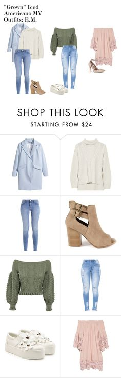 """""""""""Grown"""" Iced Americano MV Outfits: E.M."""" by zhangmaryliu2002 on Polyvore featuring H&M, Duffy, GRETCHEN, Valentino, Marc Jacobs and Muche Et Muchette"""