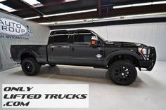 2011 Ford F250 Diesel Lariat 4WD Lifted Truck