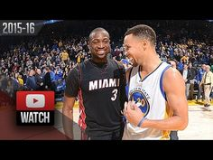 d9e11f3058fa Stephen Curry vs Dwyane Wade DUEL Highlights (2016.01.11) Warriors vs Heat  - SICK!