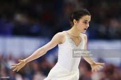 News Photo : Ivett Toth of Hungary competes in the Ladies Free...