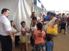 Poupatempo Campinas participou de um evento promovido pela Prefeitura da cidade levando diversos serviços aos moradores da região no fim de semana (4/2016)
