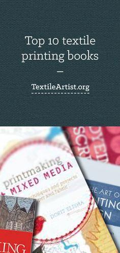 Top 10 textile printing books