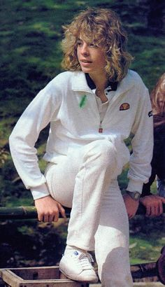 "Leif Garrett -- I thought he was the hottest thing alive. I sang ""I was Made for Dancing"" until I was hoarse."