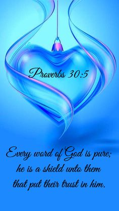 Proverbs Lets hide His word in our hearts so we will know how to live for Him. Biblical Quotes, Religious Quotes, Bible Verses Quotes, Bible Scriptures, Faith Quotes, Spiritual Quotes, Prayer Quotes, Proverbs 30 5, Psalm 30