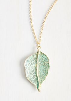 Leaf Your Worries Behind Necklace. Traveling can be stressful, but this golden necklace eliminates the need to pack any other…