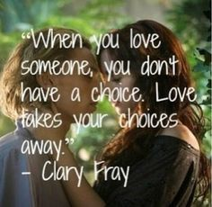 I love this movie, but this quote isn't true. You may not be able to choose who you are attracted to, but you CAN control your actions. Being an adult means doing the right thing, even when it is hard.